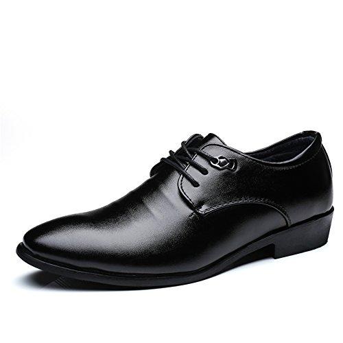 Scarpe casual Nero con stringate EU oxfords Fang Dimensione Color shoes e stringate 2018 da 38 Estate Nero Primavera lacci uomo xXwI48Z