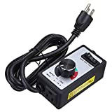 120V 15Amps Electric Motor AC/Variable Speed Controller Brush For Router Fan - Hardware & Accessories Industrial Hardware - 1 x Universal Motor Speed Controller, 1 x English Manual