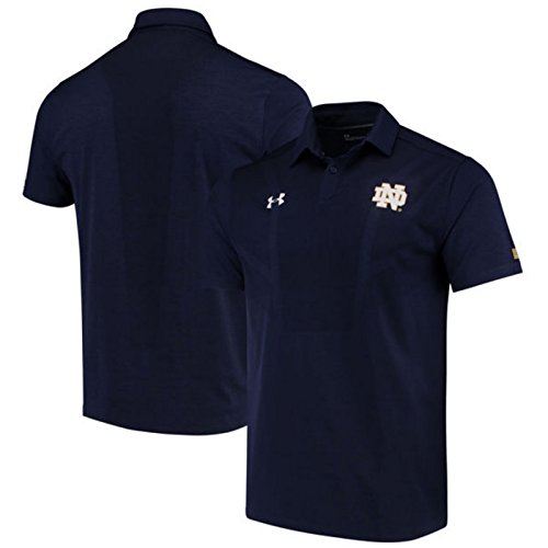 NCAA Notre Dame Fighting Irish Men's Sideline Tour Coaches Polo, Large, (Coaches Sideline Polo)