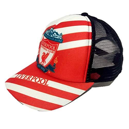 (Soft Sponge F.C Liverpool Fashion 3D Inkjet Printing Logo Baseball Cap)