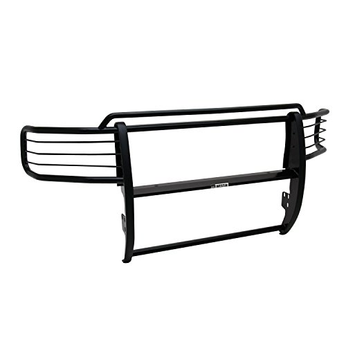 (Westin 40-0225 Sportsman Tough Black Powdercoat Finish Steel Grille Guard - 1 Piece)