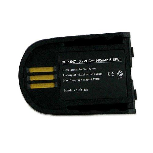 1 X Plantronics 82742-01 Cordless Phone Battery CPP-547 3.7V Li-Pol 140mAh - Replacement For Plantronics 82742-01 Cordless Phone Battery