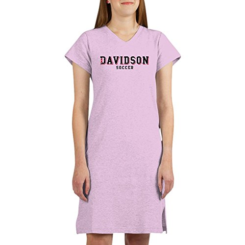 CafePress Davidson Soccer Women's Nightshirt, Soft Long Pajama Shirt, Cotton PJs/Pyjamas Pink