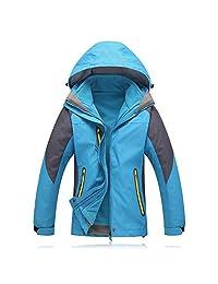 Evere Women Heated Jacket Windbreaker USB Charged Waterproof Windproof, No Batteries