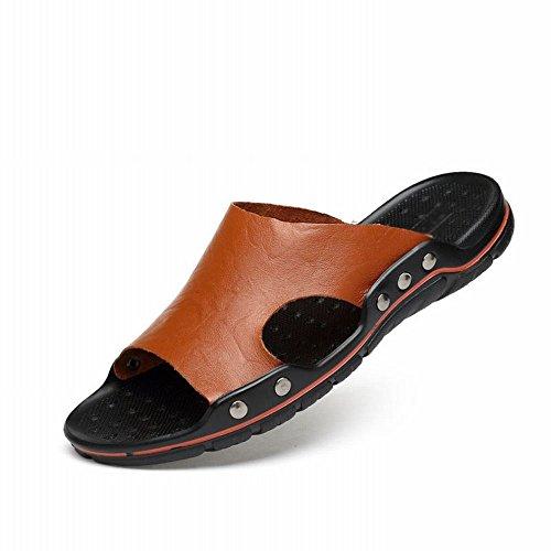 estate Scarpe D da grandi Casual da Pantofole e sandali pantofole spiaggia Pantofole uomo di Comodi dimensioni ZPD traspiranti wtTHIqw