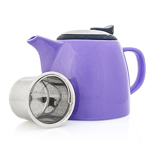 purple ceramic pitcher - 6