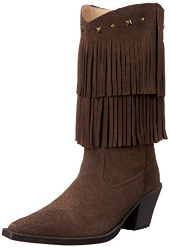 Roper Women's Short Stuff Western Boot, Brown, 9 M US