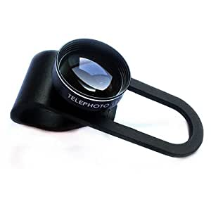 Baño alink Professional Teléfono Móvil lente Camera Lens Lente TRONICS Set Clip On adaptador de cámara para personalizar la mayoría de modelos, based on comprueba el de (0,4x Super Gran Angular + Macro + Ojo de Pez de tres en uno de Shot)