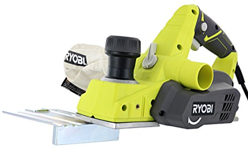 Best Price! Ryobi HPL52K 6 Amp 16,500 RPM 3 1/4 Corded Hand Planer w/ Kickstand and Dual Dust Ports