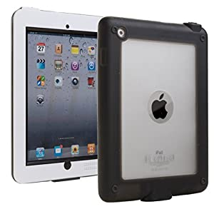 iPad 2/3/4 Waterproof case, COOPER SUBMARINE Water Resistant IP68 Outdoor Rugged Heavy Duty Tough Durable Shockproof Protective Case Cover with Screen Protector for Apple iPad 2/3/4 (White)