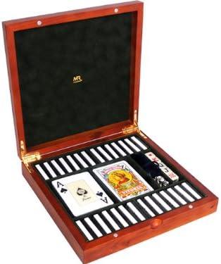 Mr - Estuche cartas-2 (four)domino+dad+mus 22x22x5cm: Amazon.es: Juguetes y juegos