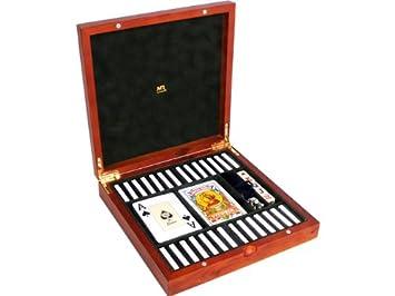 Mr - Estuche cartas-2 (four)domino+dad+mus 22x22x5cm: Amazon ...