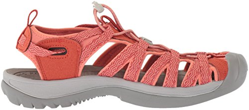 Pictures of KEEN Women's Whisper-w Sandal Red 3