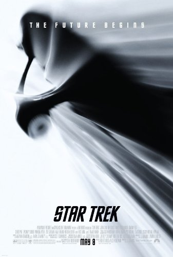 STAR TREK XI MOVIE POSTER 2 Sided ORIGINAL RARE FINAL 27x40 CHRIS PINE
