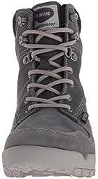Hi-Tec Women\'s Sierra Tarma I Waterproof-W Hiking Shoe, Charcoal/Cool Grey, 8 M US