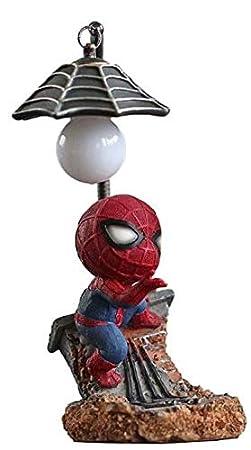 HORSTEN Figura Spiderman 10cm con Lampara LED Noche niños ...