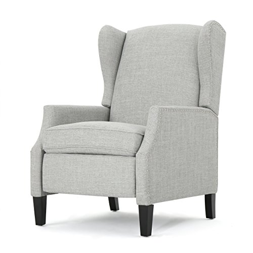 Weyland Wingback Traditional Fabric Recliner (Reclining Wingback Chair)