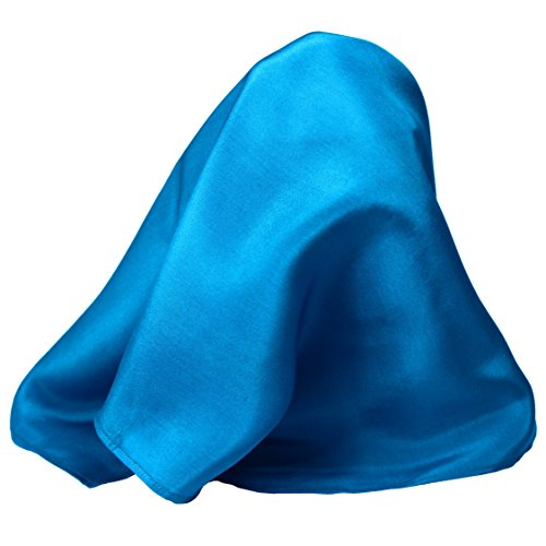- Royal Blue Silk Pocket Square By ROYAL SILK - Full-Sized 16
