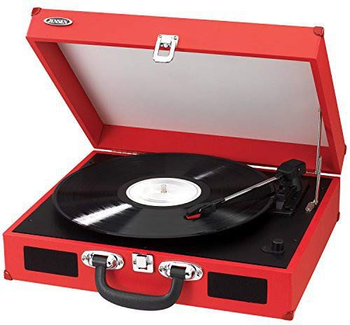 Buy jensen 3 speed turntable with stereo speakers