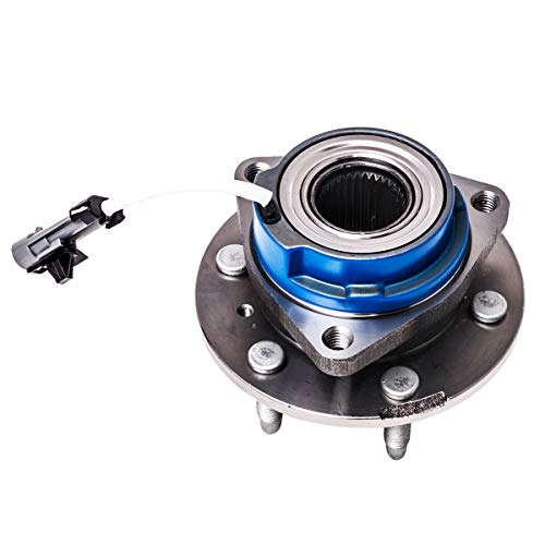 Front Rear Wheel Hub and Bearing Assembly Left or Right Compatible Buick Terraza Chevrolet Uplander Pontiac Montana Saturn Relay AUQDD 513236 [ 6 Lug W/ABS ]