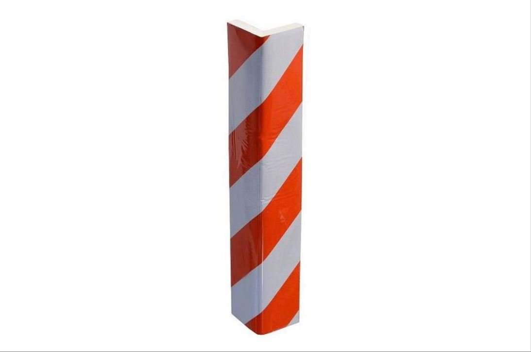 Protección para cantos de puertas, protección para puerta de garaje, protección para pared, embellecedor de pared, reflector, 40 cm x 12 cm x 15 mm: ...