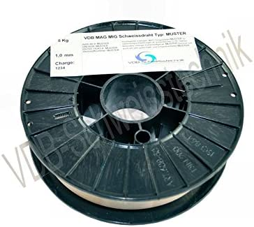 Schwei/ßdraht MIG Aluminium ALSI-5-1,0 mm Spule D200-3.3548-2,0 Kg
