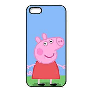 Peppa Pig Deisgn High Quality Inspired Design TPU Protective cover For Iphone 5 5s iphone5-NY1017