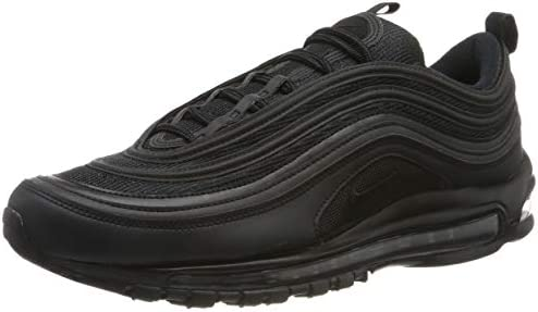 meilleure sélection 35725 c05a0 Nike Air Max 97, Men's Shoes, Black (Black 001), 10 UK (45 ...