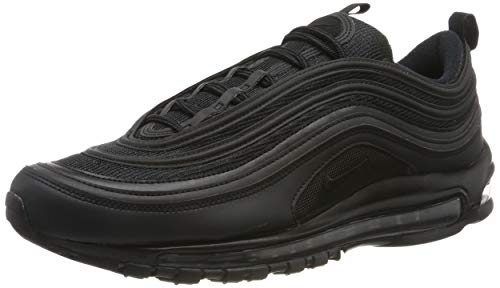 Nike Air Max 97 Mens Running Trainers BQ4567 Sneakers Shoes (UK 7.5 US 8.5 EU 42, Black White 001)