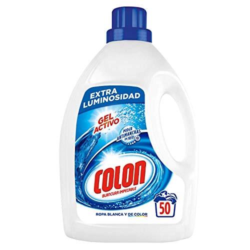 Colon Detergente Lavadora Gel Activo - 50 Lavadaos: Amazon.es ...