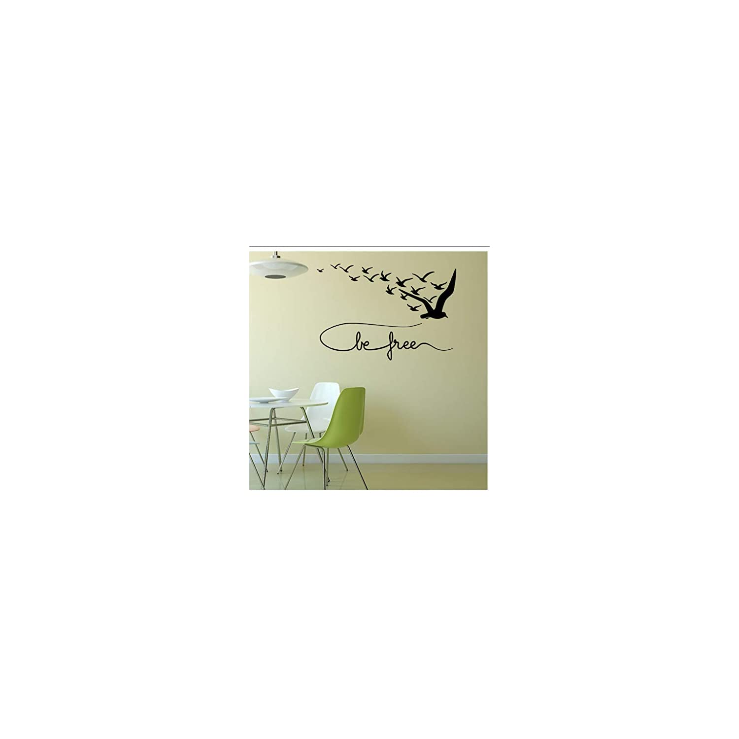 Buzdao Creative Seabird Wall Sticker for Kids Room Home Decor Living Room Tv Wall Decorative DIY Decals Stickers