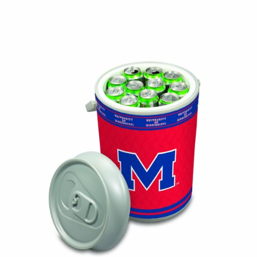 NCAA Ole Miss Rebels Mega Can Cooler, 5-Gallon by PICNIC TIME
