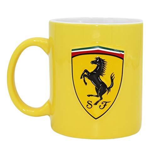 (Ferrari Mug One size Yellow)