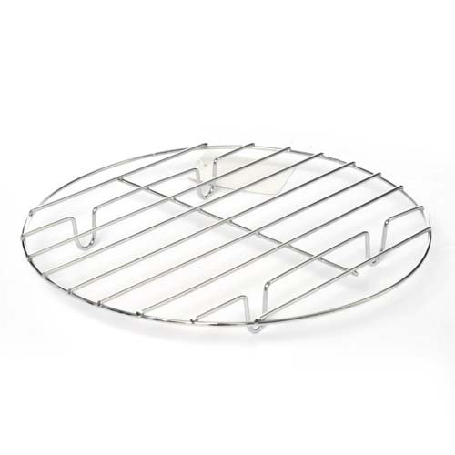 Chrome Trivet, dia. 9 In, Case of 30 by DollarItemDirect
