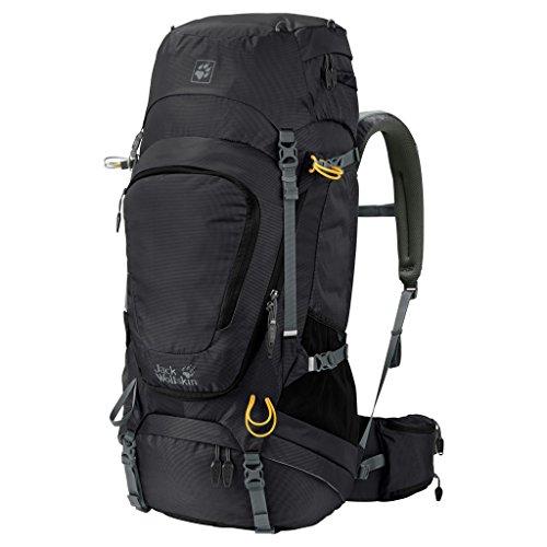 Jack Wolfskin Highland Trail XT Rucksack, Black, 50 + 5 L by Jack Wolfskin