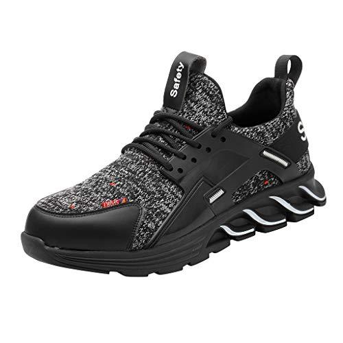 KERULA Sneaker Damen Atmungsaktiv Arbeitsschuhe Sportschuhe Wanderschuhe Laufschuhe Turnschuhe Hallenschuhe Joggingschuhe Freizeitschuhe Walkingschuhe Fitness Running Schuhe für Outdoor