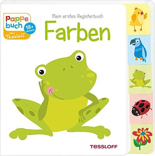 Mein erstes Registerbuch Farben (Bilderbuch ab 18 Monate) Pappbilderbuch – 1. Januar 2018 Oli Poppins 3788639806 Für Babys ab 12 Monaten Natur