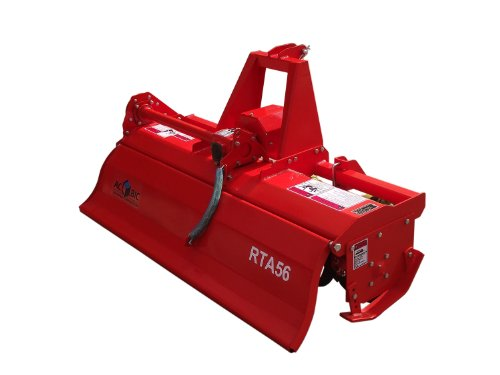 3pt Rotary Tiller Accubic#rta56, Cat1, 56in.working Width, Gear Drive, 36 Blades, Offset, Slip Clutch PTO by ACCUBIC (Image #2)