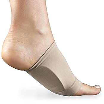 Shop Flash Plantar Fasciitis Therapeutic Arched Gel Foot Support, Nude