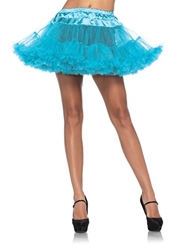 Leg Avenue Women's Petticoat Dress, Turquoise, One Size ()