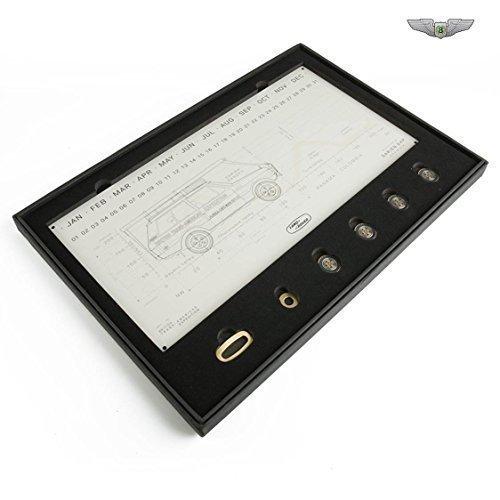 Land Rover Nuovo Originale Heritage Darien Gap Calendario Magnetico Board 51ldgf610gya