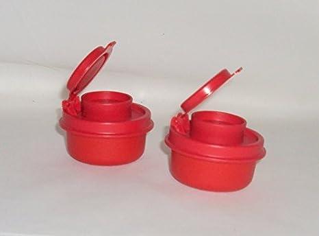 Amazoncom Tupperware Mini Smidgets Personal Salt And Pepper