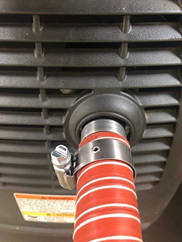 "Champion 2000 Watt Inverter Generator 1"" Silicone tubing Exh"