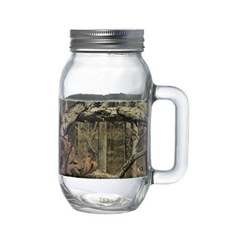 UPC 715512057595, Mossy Oak Break Up Infinity Glass Mason Jar with L