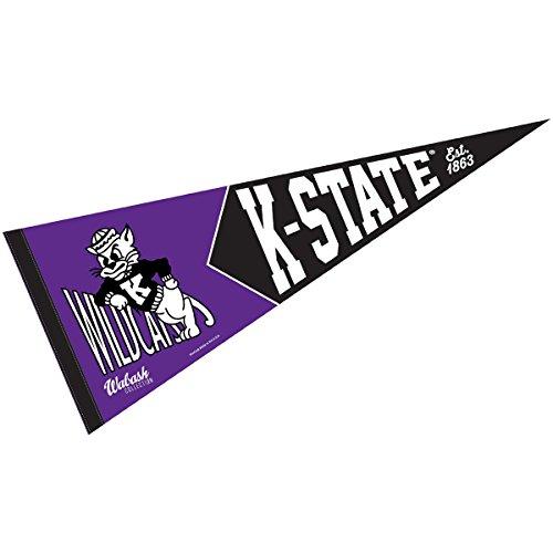 Kansas State Wildcats Team Pennant - Kansas State Wildcats Retro Vintage and Throwback Pennant