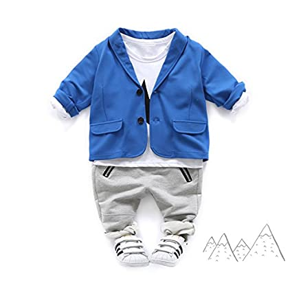 0519f0bd4 Amazon.com  UWESPRING Boys  Fashion Blazers Jackets Casual Coat Suit ...
