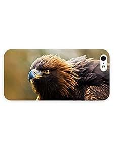 3d Full Wrap Case for iPhone 5/5s Animal Golden Eagle70