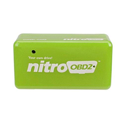 Alamor Eco Obd2 Wirtschaft Chip Tuning Box Benzin Gr/ün Kraftstoff Optimierung Ger/ät