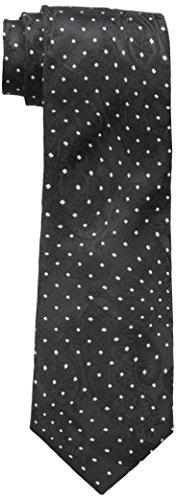 Sean John Men's Dotted Paisley Tie black, One Size