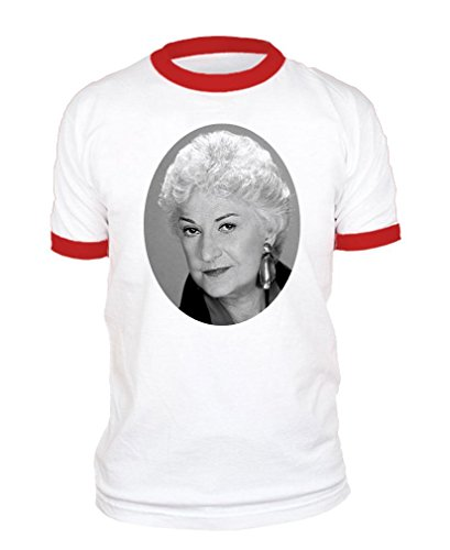 The Goozler Golden Girls Pool Funny Movie Reference - Cotton RED Ringer TEE, XL